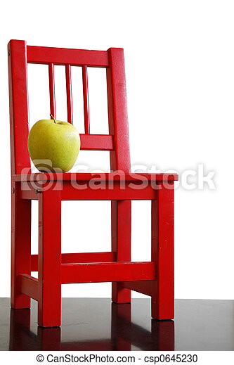 https://comps.canstockphoto.com/schoolchair-and-apple-stock-photography_csp0645230.jpg
