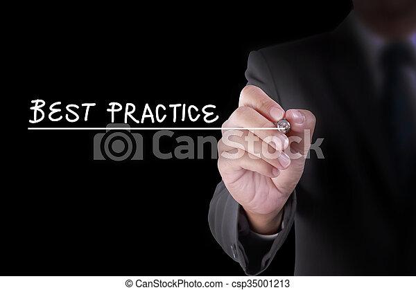 schrijf, praktijk, best - csp35001213