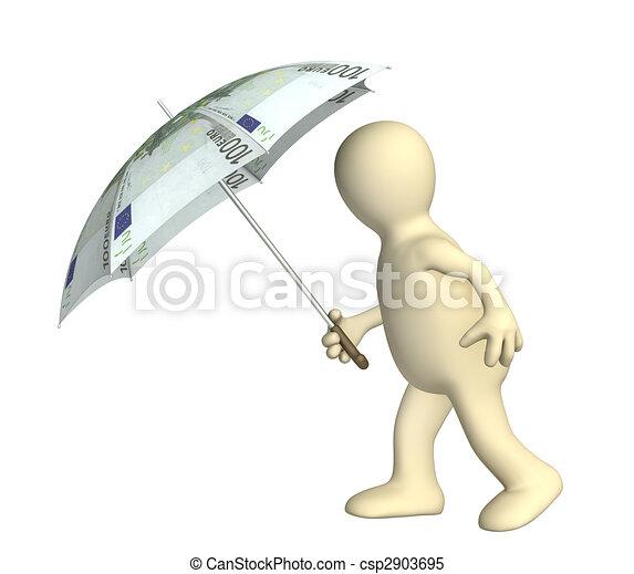 Finanzieller Schutz - csp2903695