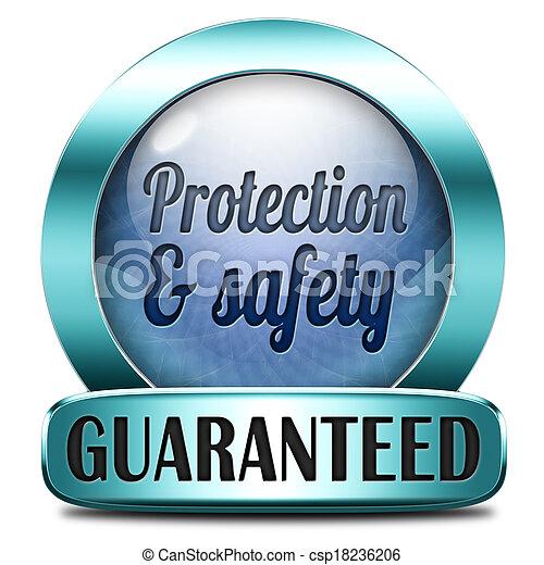 schutzsicherheit - csp18236206