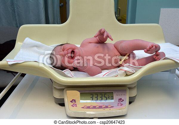 Neugeborenes Schwanger