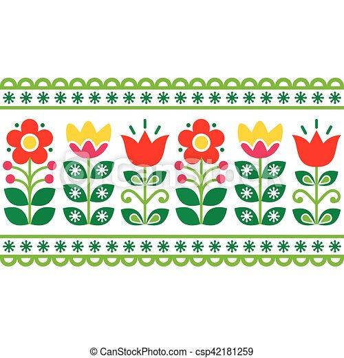 Schwedische traditionelle muster  Schwedische , kunst, muster, -, langer, traditionelle ,... Clipart ...