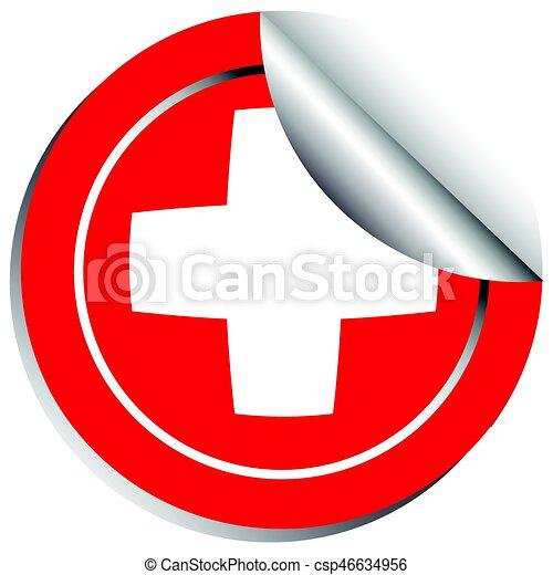 Schweiz, aufkleber, fahne, schablone. Schweiz, aufkleber, fahne ...