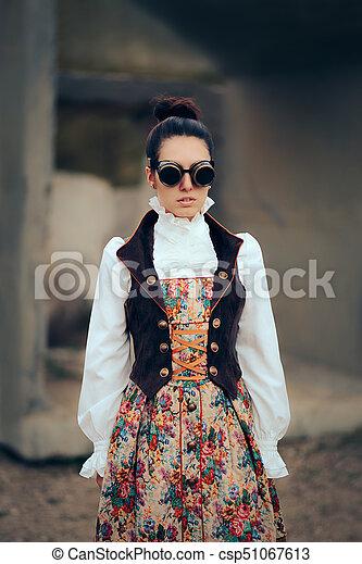 Futuristic Victorian Dresses