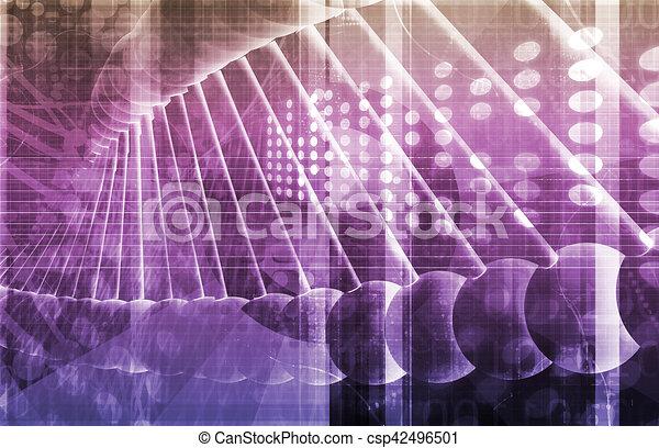 Science Background - csp42496501