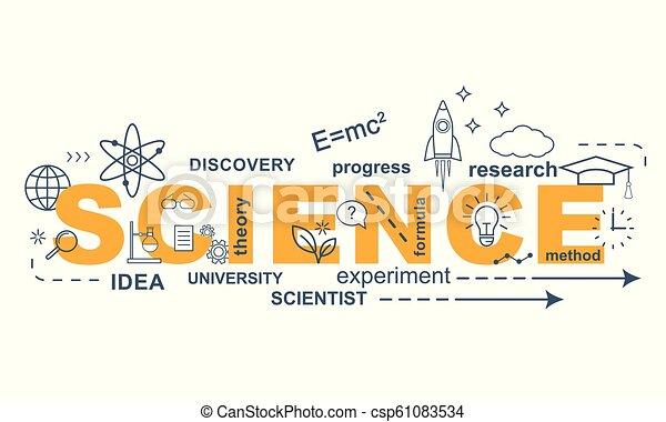 SCIENCE concept. - csp61083534