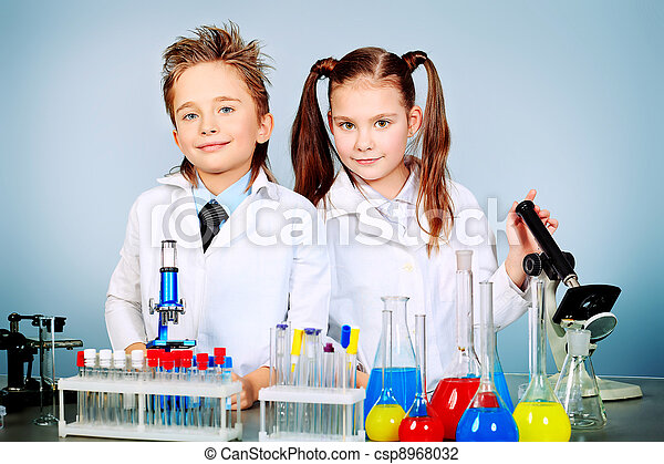 science, enfants - csp8968032
