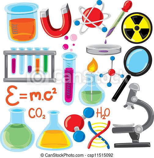 science, ensemble, remplir - csp11515092