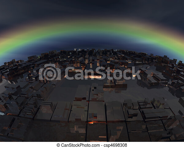 science fiction - csp4698308