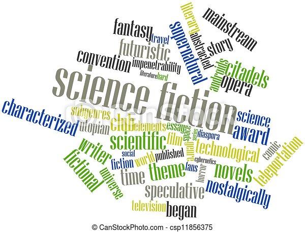 Science fiction - csp11856375