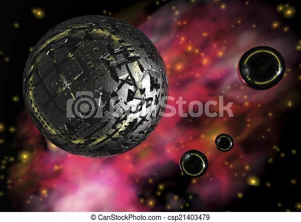 Science fiction - csp21403479