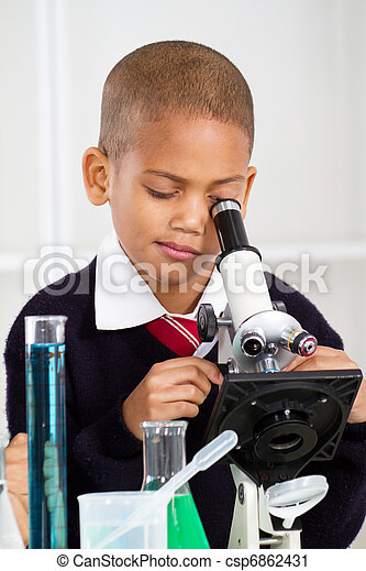 science, garçon - csp6862431