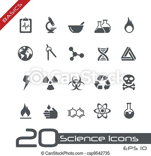 Science Icons // Basics - csp9542735