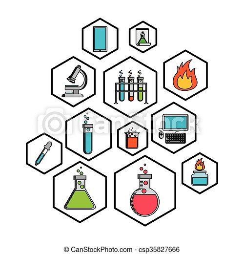 science lab design science lab design vector illustration clip rh canstockphoto com science lab clipart black and white science lab coat clipart