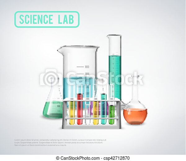 Science Laboratory Equipment Composition Science Lab Symbols