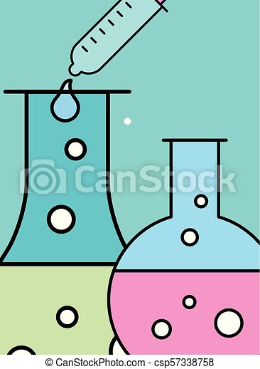 science laboratory research - csp57338758