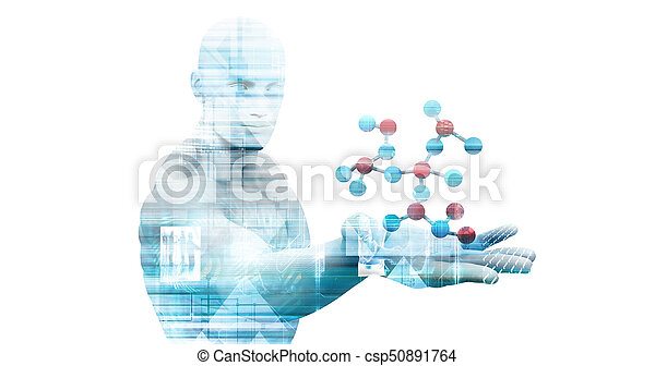 science, monde médical - csp50891764