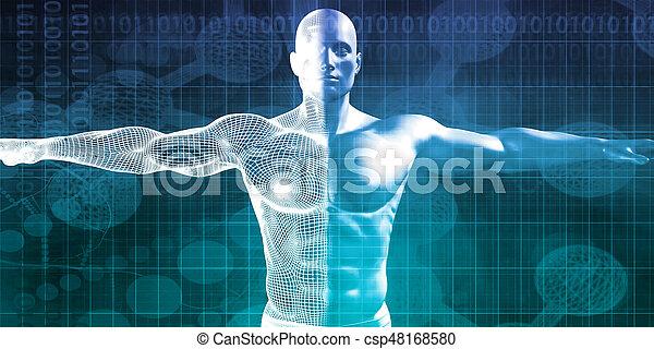 science, monde médical - csp48168580