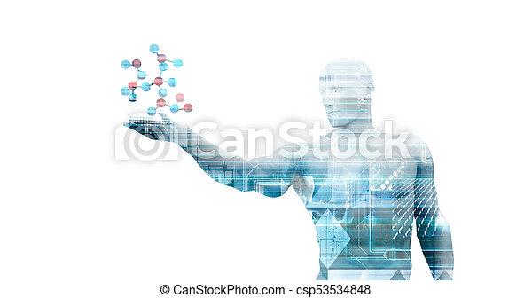 science, monde médical - csp53534848
