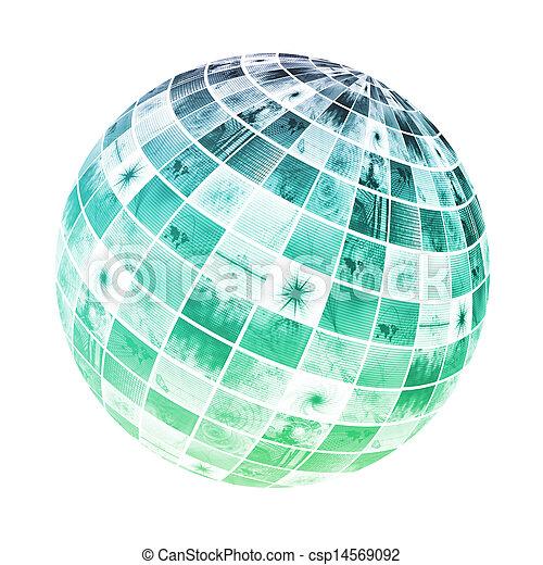 science, monde médical - csp14569092