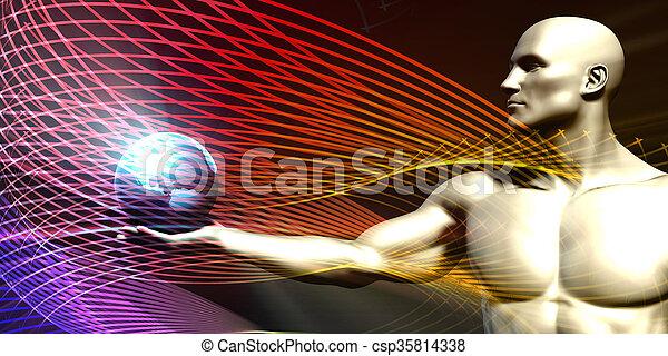 science, monde médical - csp35814338