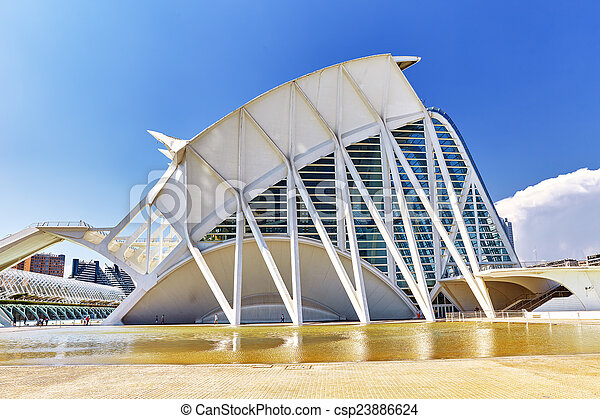 Science Museum  - City of Arts and Sciences ,Valencia - csp23886624