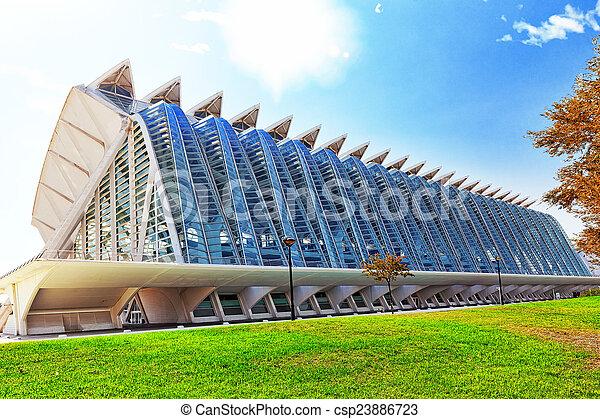 Science Museum  - City of Arts and Sciences ,Valencia - csp23886723