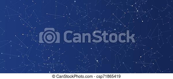 science, résumé, futuriste, fond - csp71865419