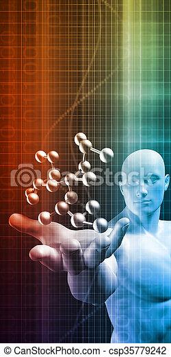 science, résumé - csp35779242