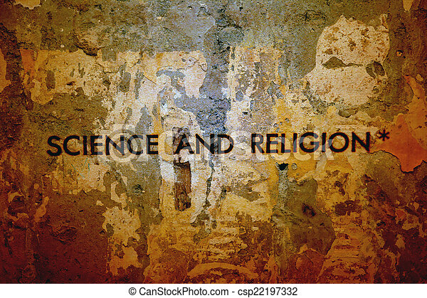 science, religion - csp22197332