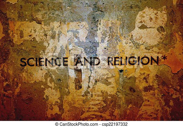 science, religion - csp22197332