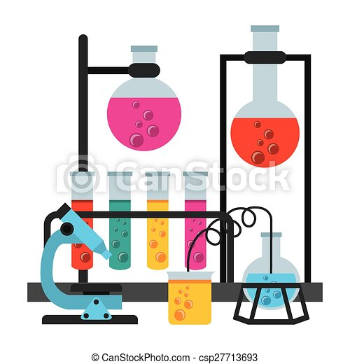scientific laboratory - csp27713693