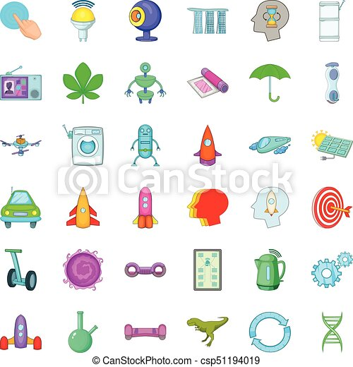 scientist icons set cartoon style scientist icons set cartoon style of 36 scientist vector icons for web isolated on white can stock photo