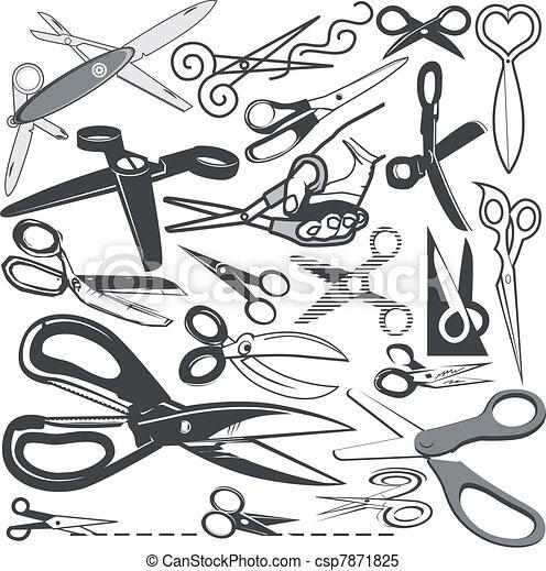 Scissor Collection - csp7871825