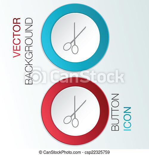 scissors. barbershop. - csp22325759