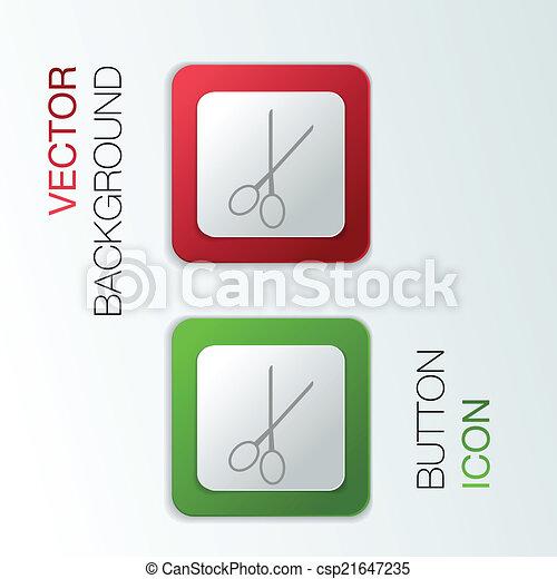 scissors. barbershop. - csp21647235