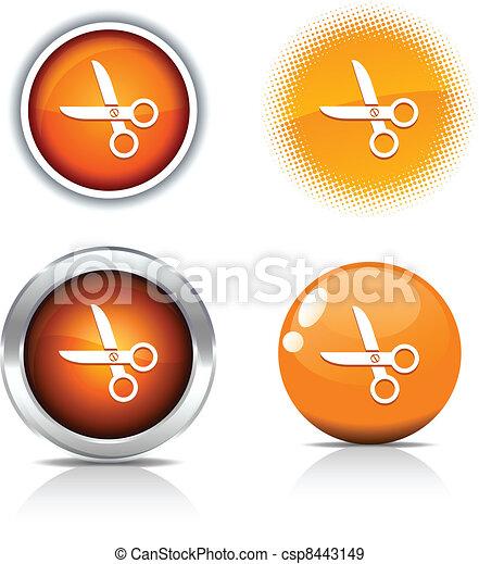 scissors buttons. - csp8443149