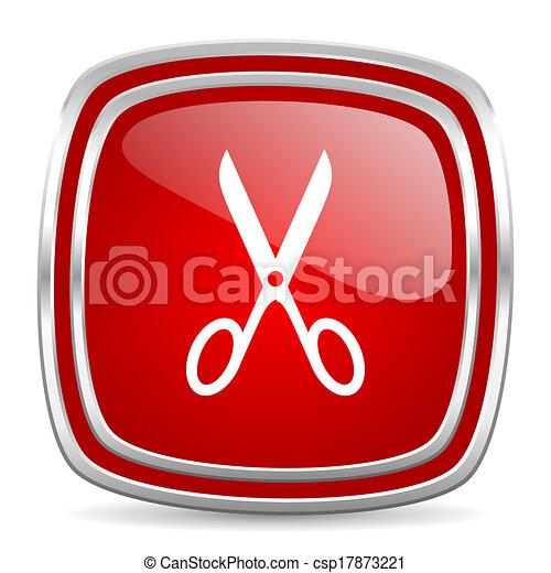 scissors icon - csp17873221