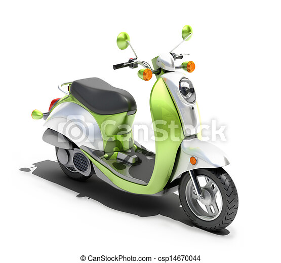Scooter close up - csp14670044