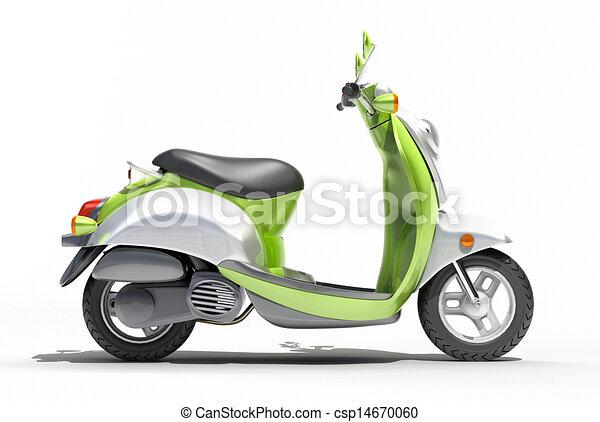 Scooter close up - csp14670060