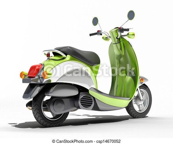 Scooter close up - csp14670052