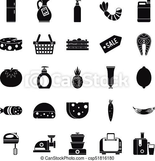 Score icons set, simple style - csp51816180