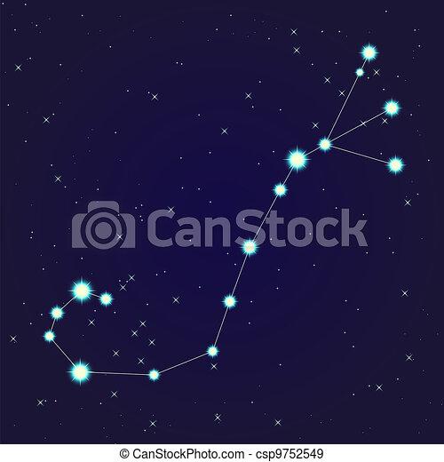 scorpion, constellation - csp9752549
