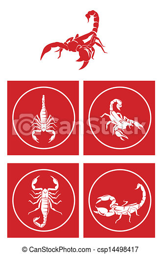 Scorpion Symbol Set - csp14498417
