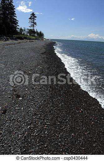 La costa de Nova Escocia - csp0430444