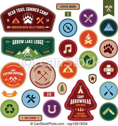Scout badges - csp12613034