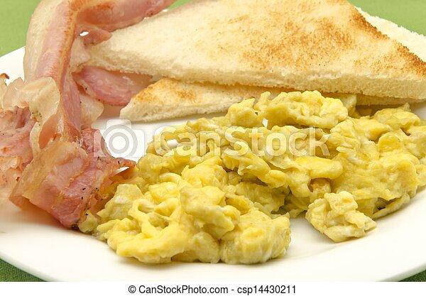 Scrambled eggs - csp14430211