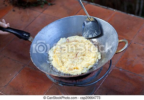 scrambled eggs - csp20664773