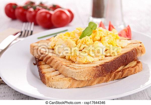 scrambled eggs - csp17644346