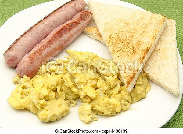 Scrambled eggs - csp14430139